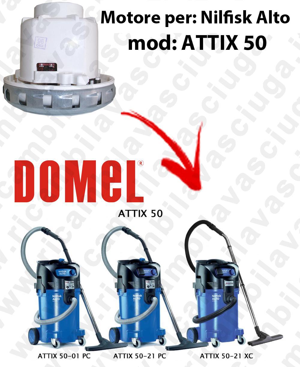 MOTORE DOMEL  para ATTIX 50 aspiradora NILFISK ALTO