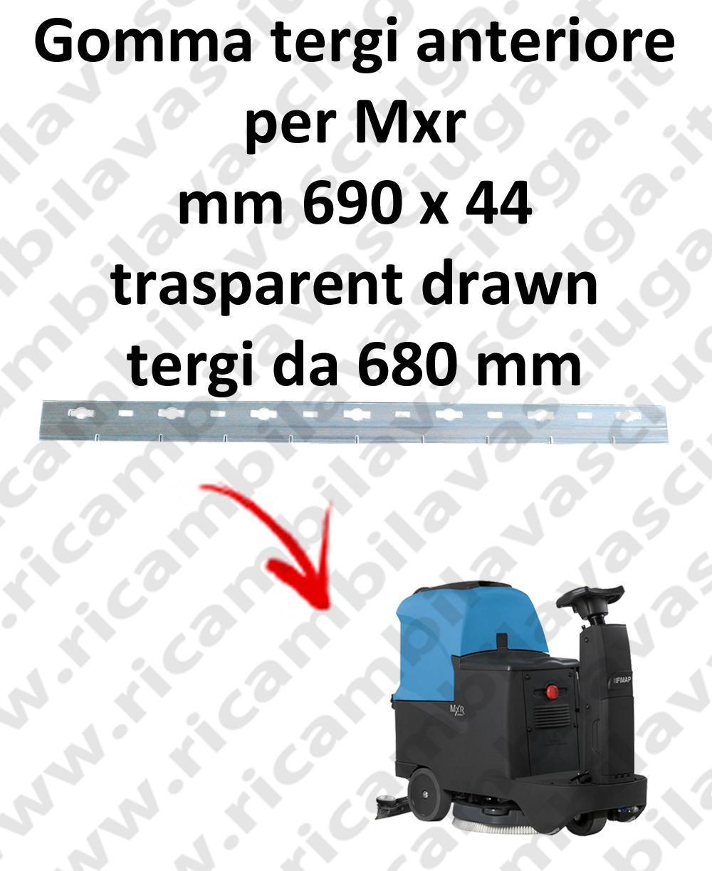 Mxr goma de secado delantera para FIMAP  repuestos fregadoras squeegee