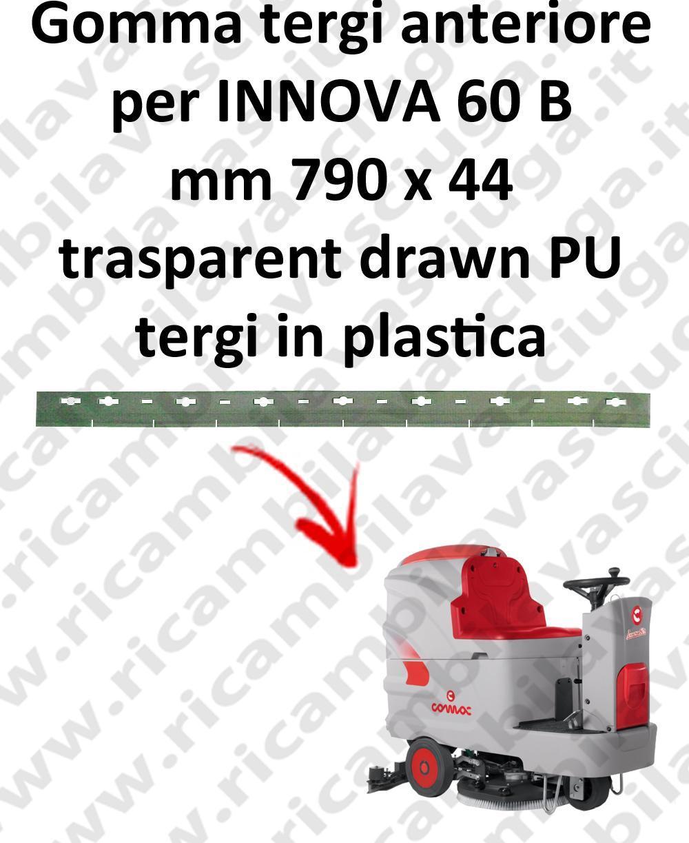 INNOVA 60 B goma de secado delantera para COMAC repuestos fregadoras squeegee