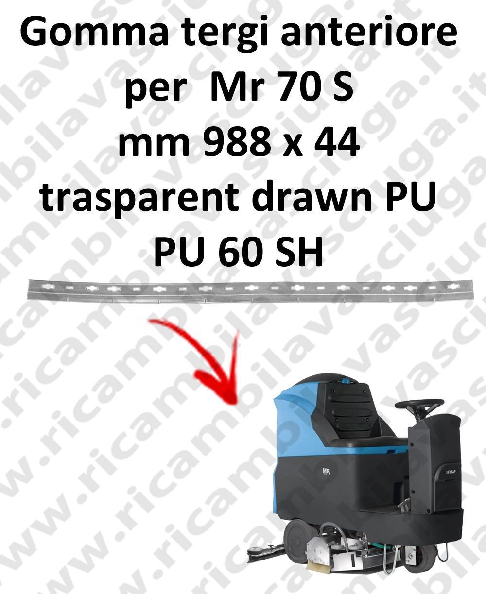 Mr 70 S goma de secado delantera para FIMAP repuestos fregadoras squeegee