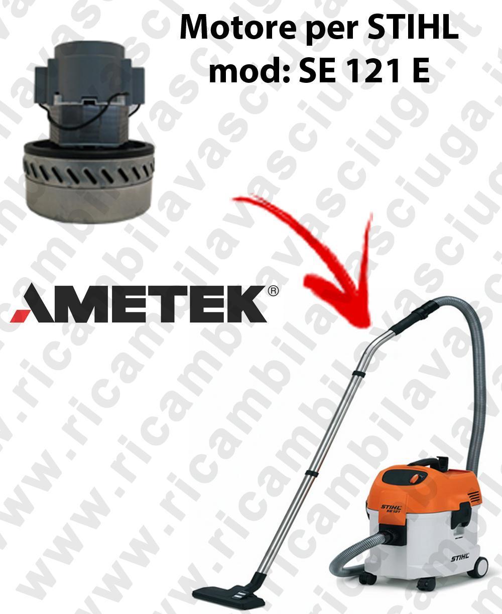 SE 121 y Motore de aspiración AMETEK  para aspiradora STIHL