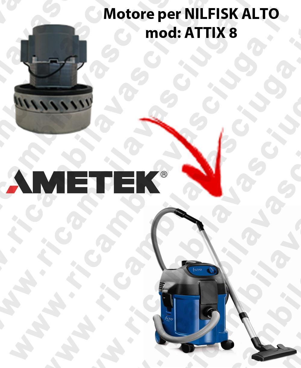 ATTIX 8 Motore de aspiración AMETEK  para aspiradora NILFISK ALTO