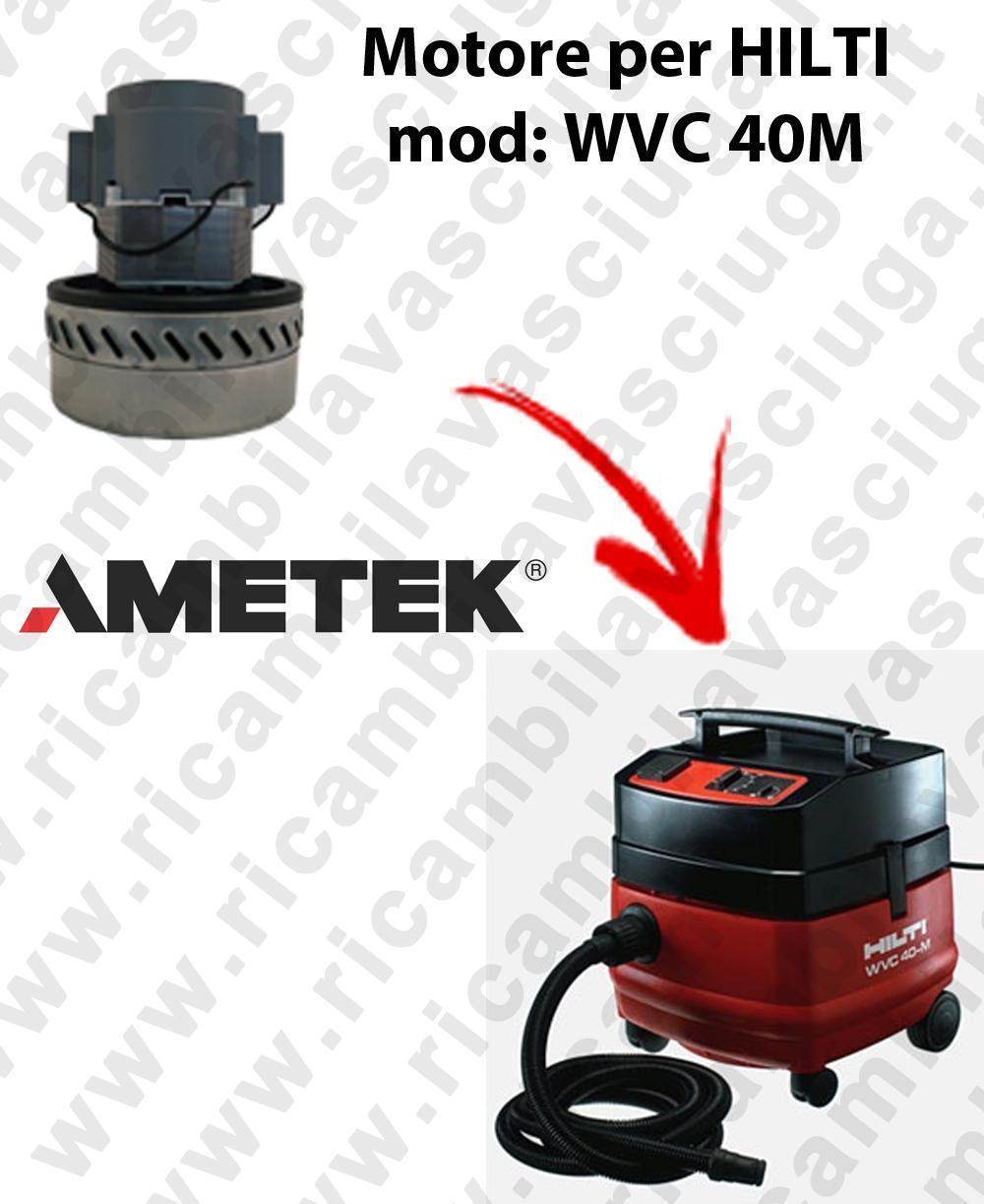 WVC 40 M Motore de aspiración AMETEK  para aspiradora HILTI