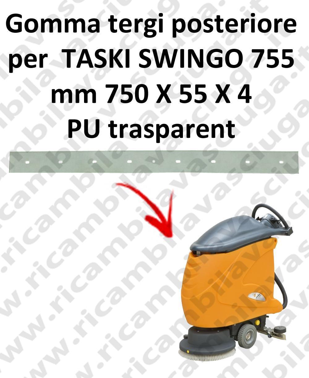 SWINGO 755  goma de secado trasero para TASKI repuestos fregadoras squeegee