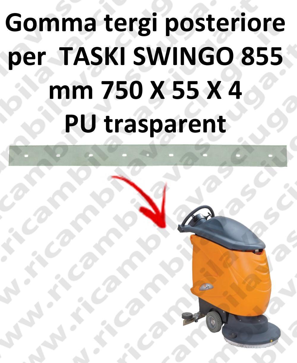 SWINGO 855  goma de secado trasero para TASKI repuestos fregadoras squeegee