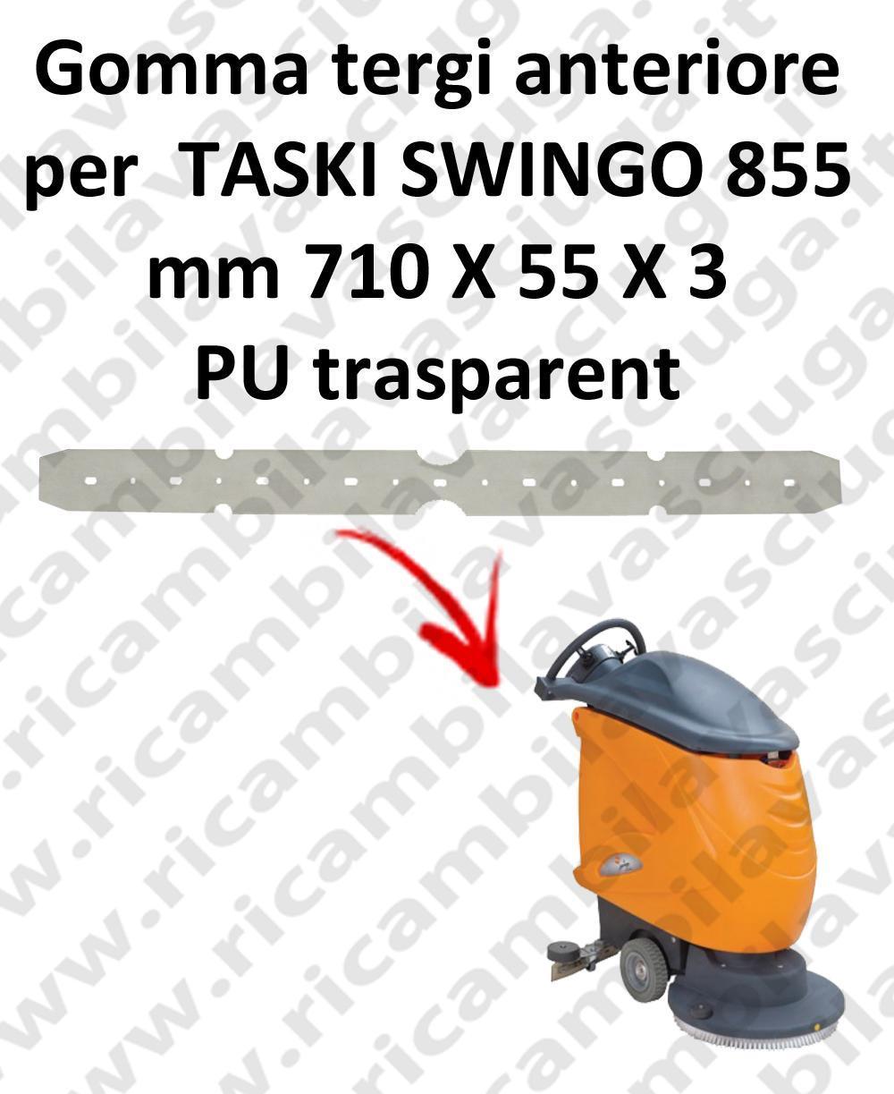 SWINGO 855  goma de secado delantera para TASKI repuestos fregadoras squeegee