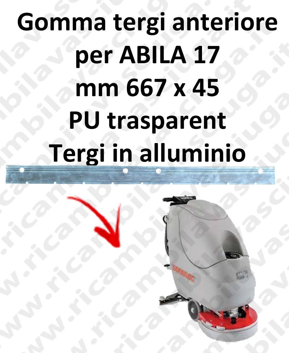 ABILA 17 goma de secado delantera para COMAC repuestos fregadoras squeegee