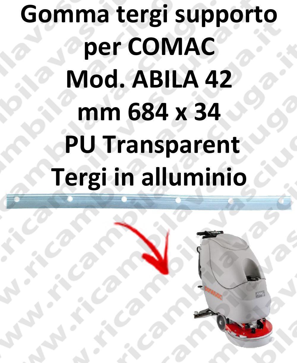 ABILA 42 goma de secado soporte para COMAC repuestos fregadoras squeegee