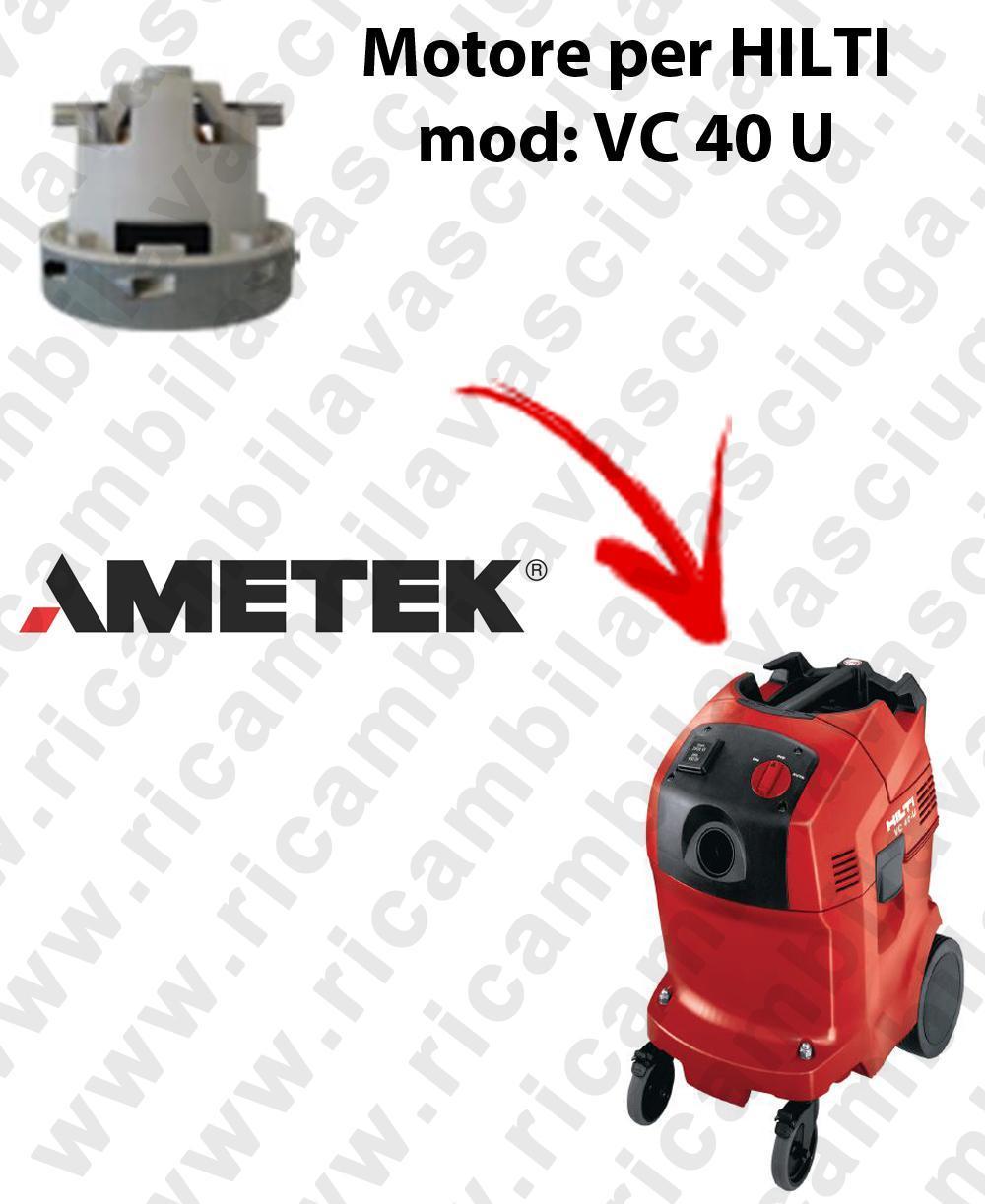 VC 40 U automatic Motore de aspiración AMETEK para aspiradora HILTI
