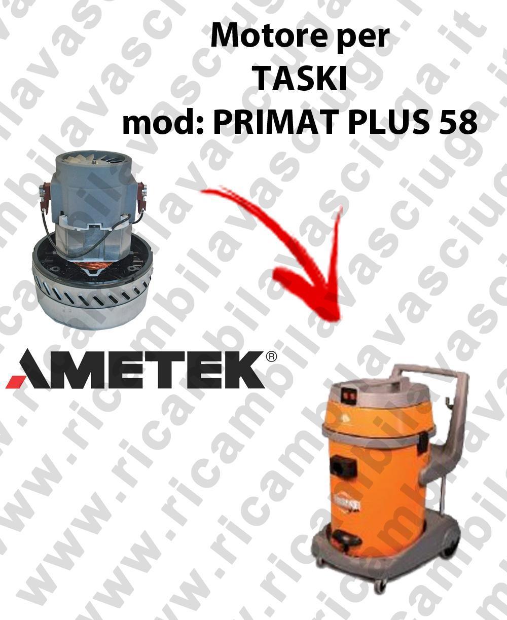 PRIMAT PLUS 58 Motore de aspiración AMETEK para aspiradora y aspiradora húmeda TASKI
