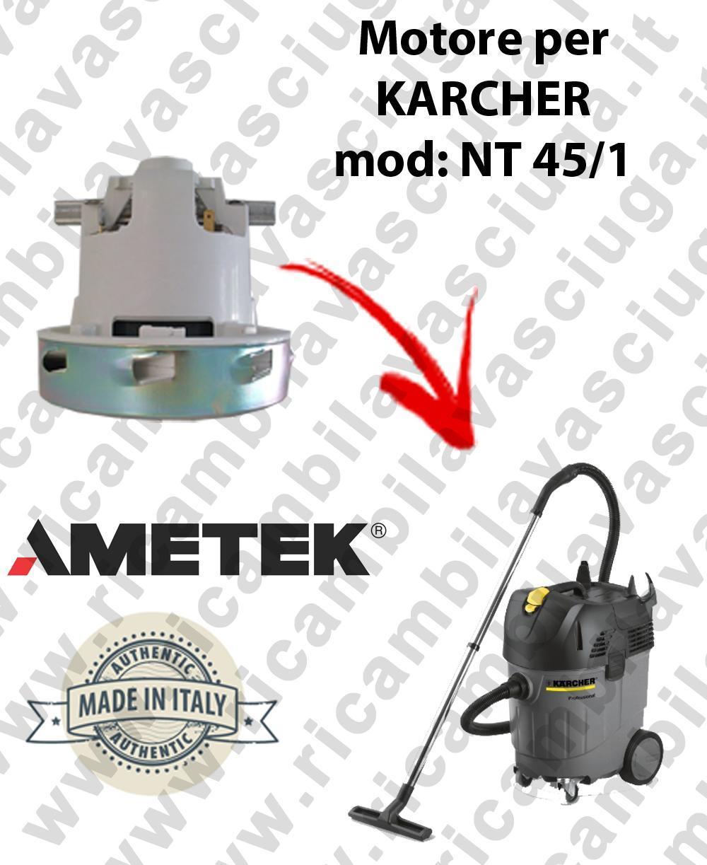 NT 45/1  Motore de aspiración AMETEK  para aspiradora KARCHER