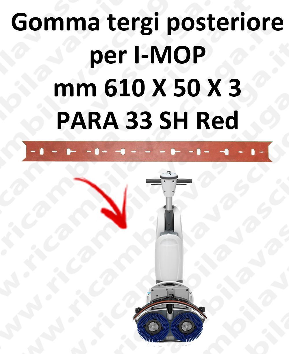 I-MOP goma de secado trasero repuestos fregadoras squeegee