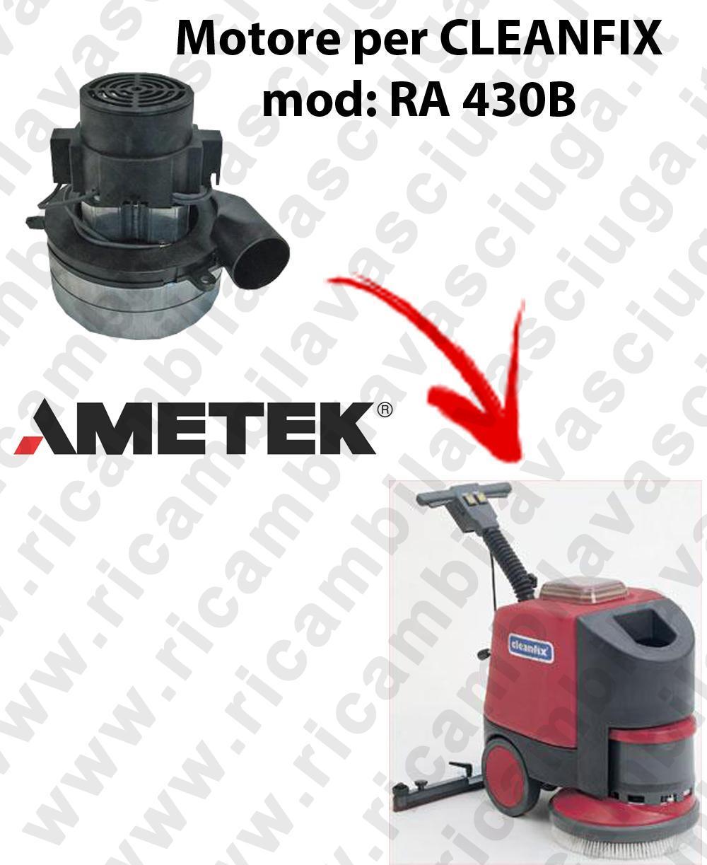 RA 430B Motore de aspiración Ametek Italia  para fregadora CLEANFIX