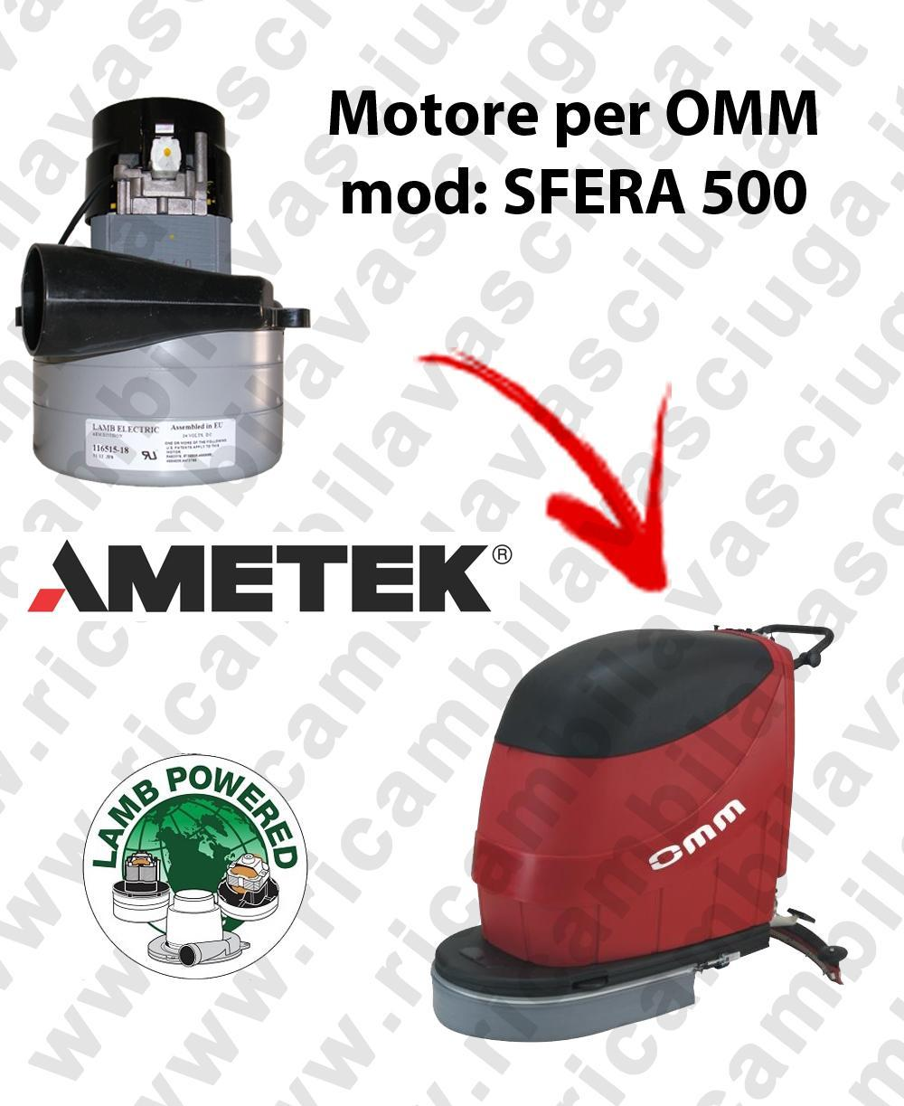 SFERA 500 Motore de aspiración LAMB AMETEK para fregadora OMM