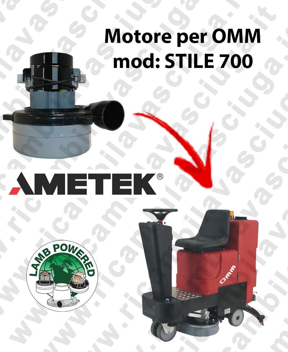 STILE 700 Motore de aspiración LAMB AMETEK para fregadora OMM