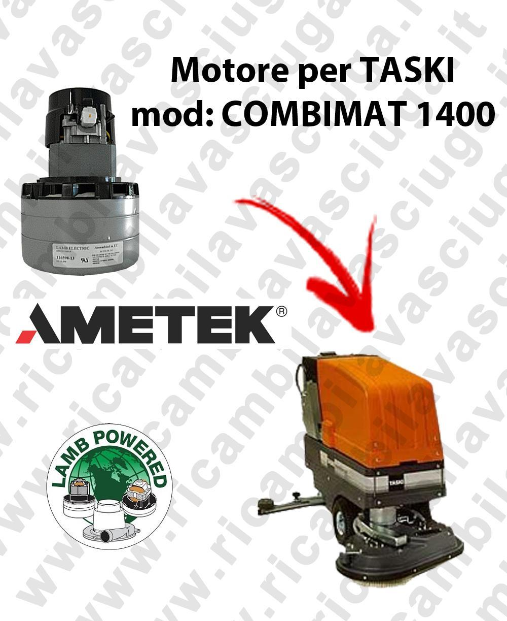 COMBIMAT 1400 Motore de aspiración LAMB AMETEK para fregadora TASKI