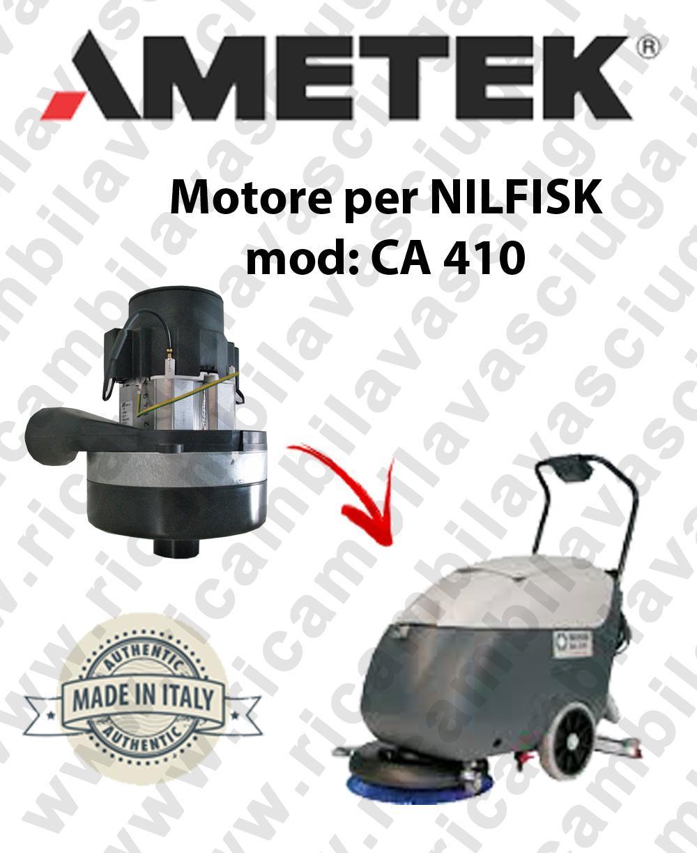 CA 410 Motore de aspiración AMETEK para fregadora NILFISK