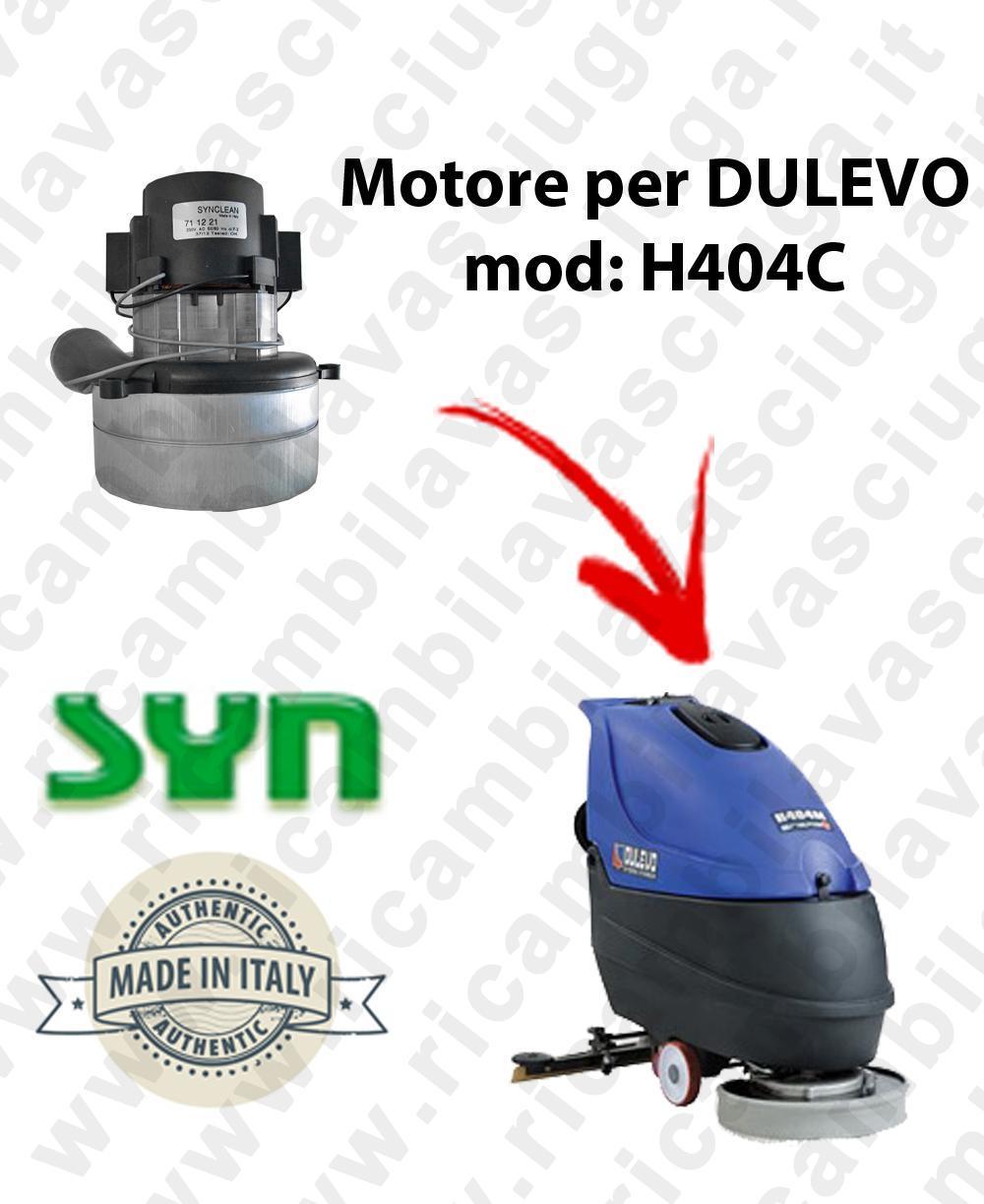 H404 C MOTORE SYNCLEAN di aspirazione para fregadora DULEVO