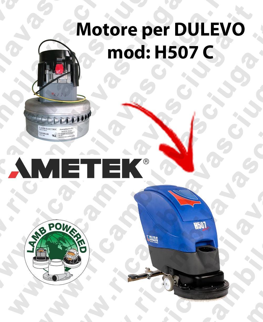 H507 C Motore de aspiración LAMB AMETEK para fregadora DULEVO