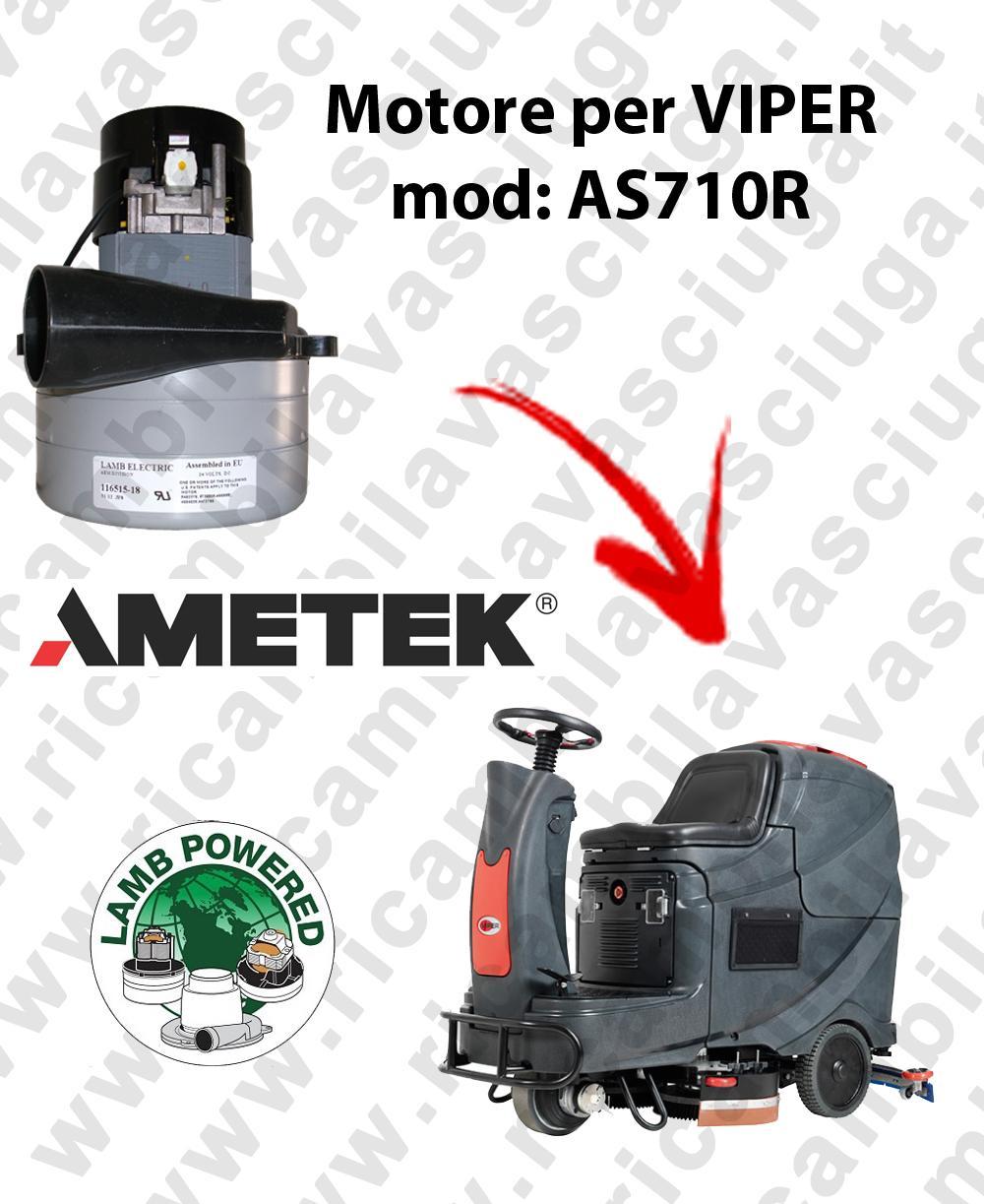 AS710R Motore de aspiraciónLAMB AMETEK para fregadora VIPER