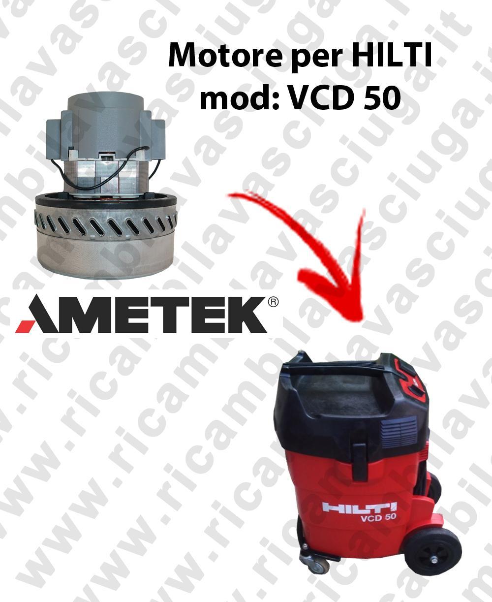 VCD 50 Motore de aspiraciónAMETEK para aspiradora y aspiradora húmeda HILTI