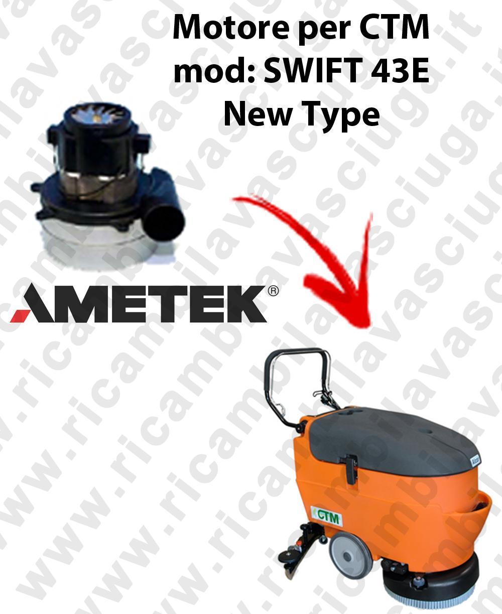 SWIFT 43 y New Type MOTORE SYNCLEAN di aspirazione para fregadora CTM