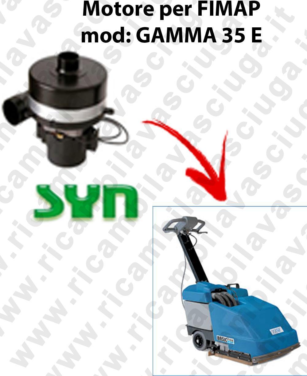 GAMMA 35 E MOTORE SYN aspirazione fregadoras Fimap