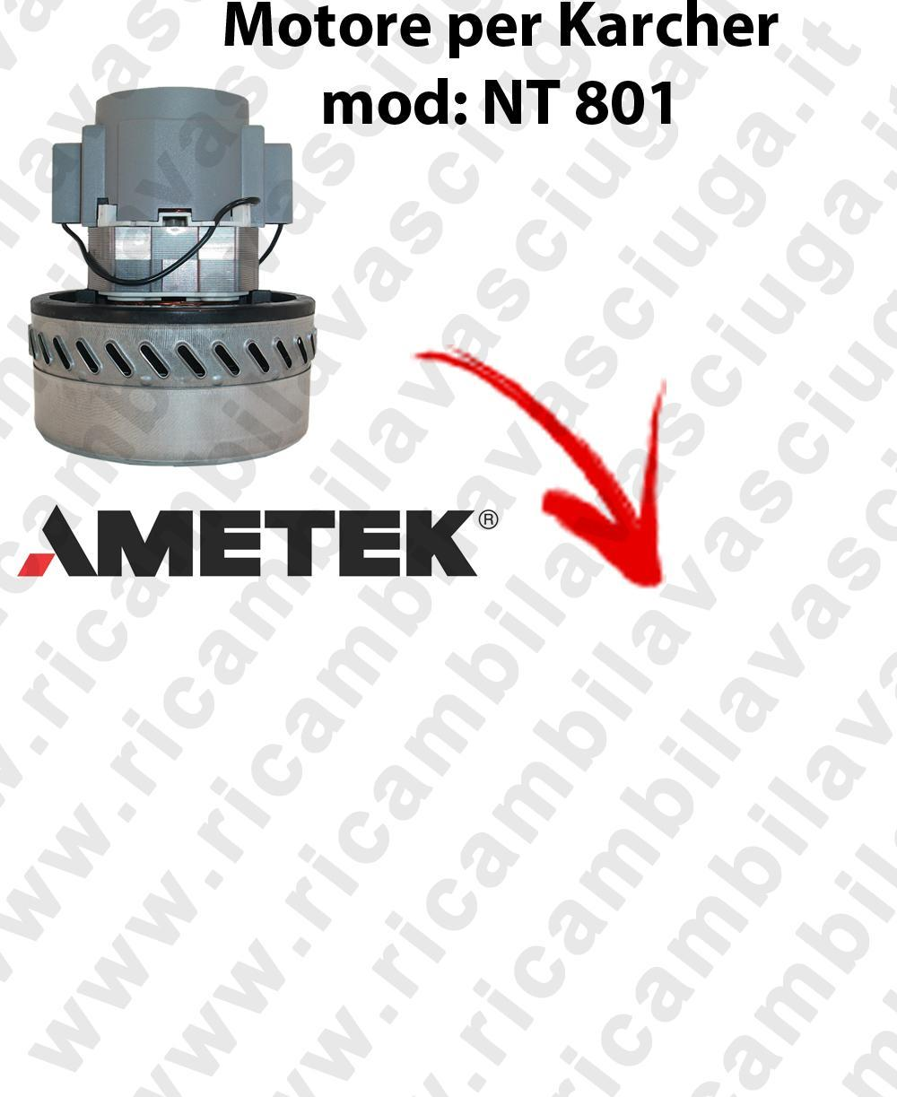 NT801 Motore de aspiración AMETEK para aspiradora KARCHER