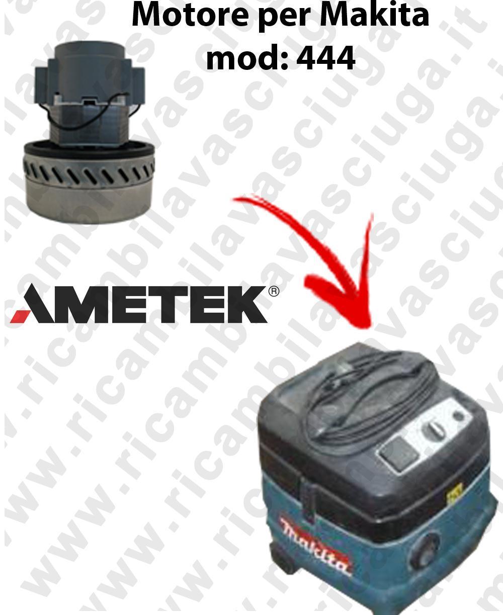 444 M Motore de aspiración AMETEK  para aspiradora MAKITA