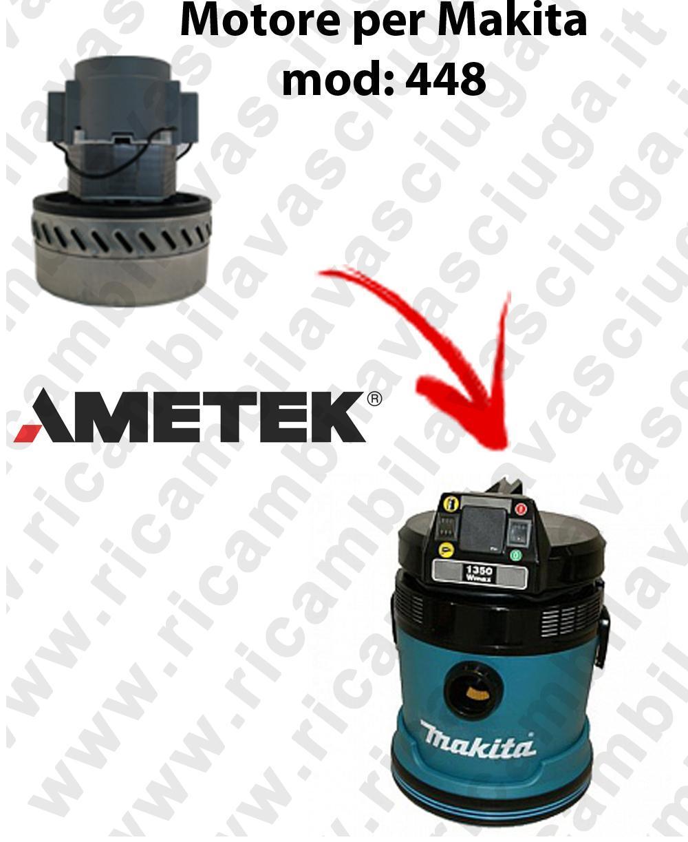448 Motore de aspiración AMETEK  para aspiradora MAKITA