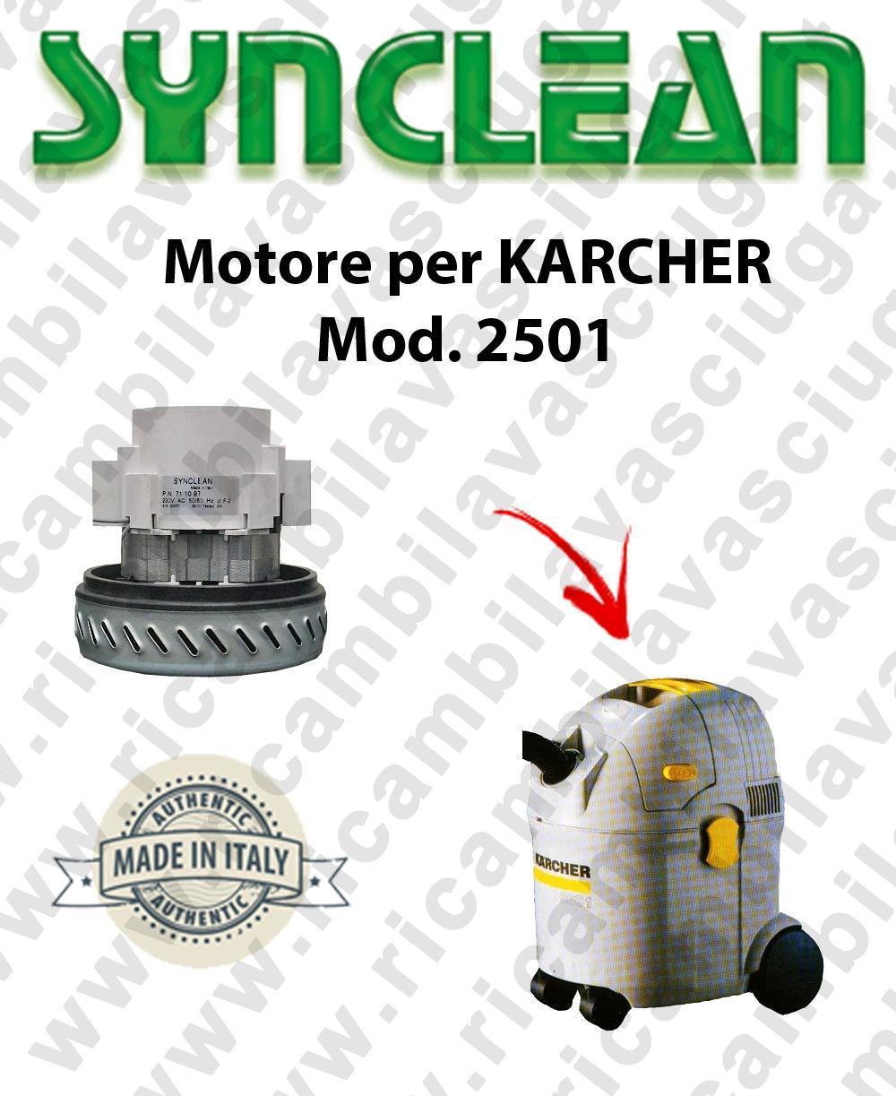 2501 Motore de aspiración AMETEK  para aspiradora KARCHER
