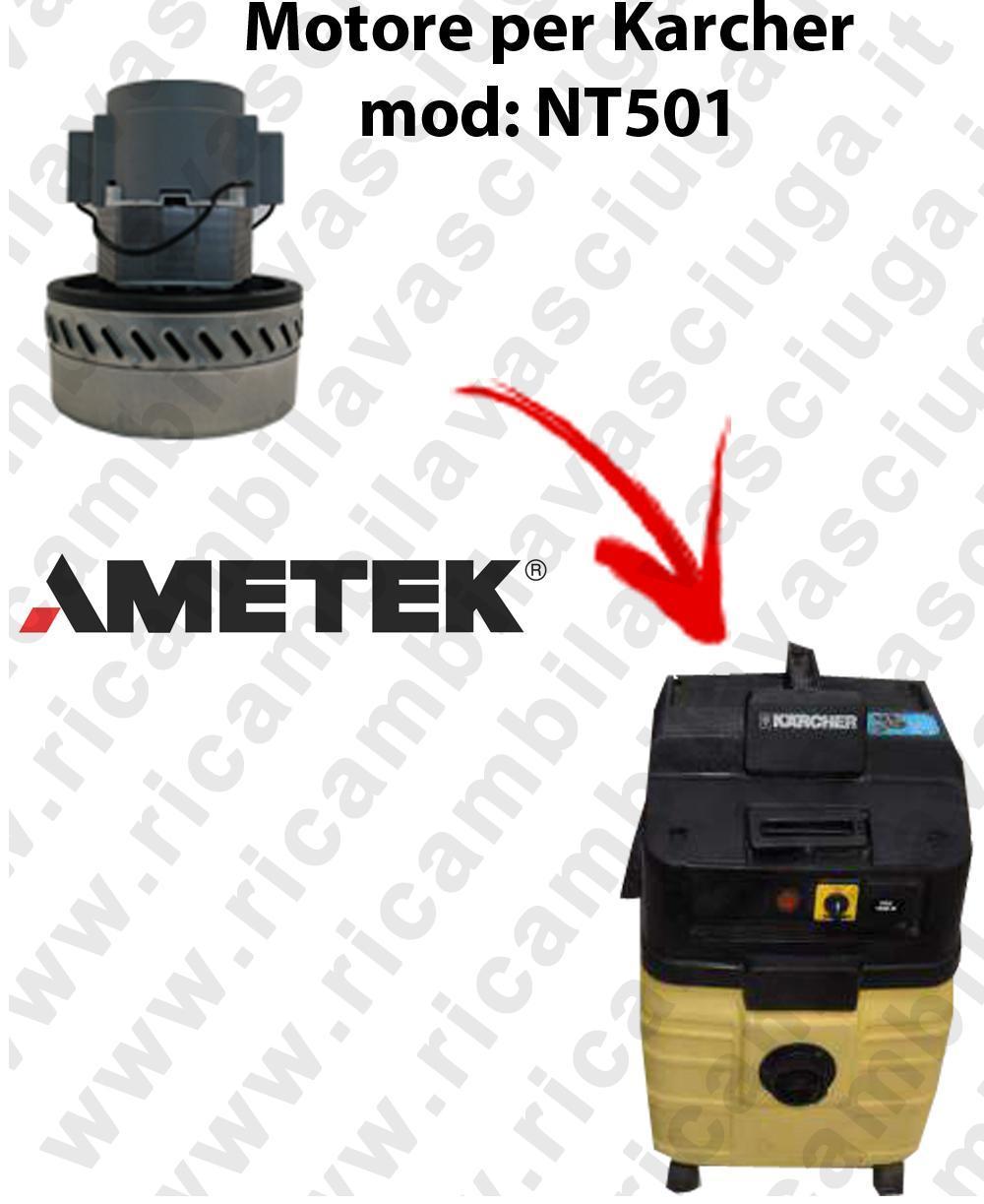 NT501 Motore de aspiración AMETEK  para aspiradora KARCHER
