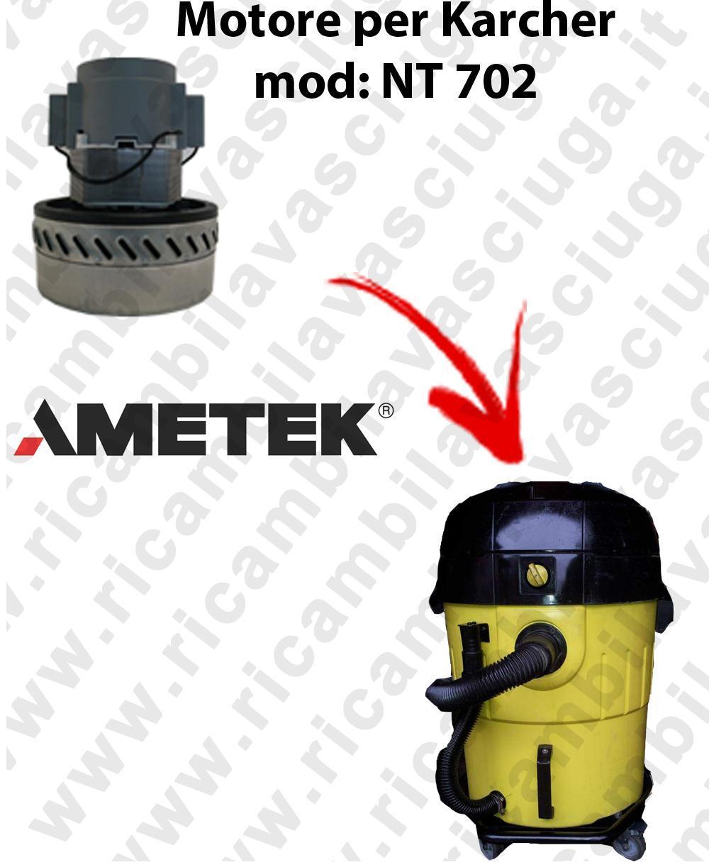 NT702 Motore de aspiración AMETEK  para aspiradora KARCHER