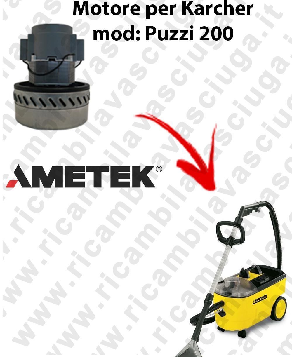 PUZZI 200 Motore de aspiración AMETEK  para aspiradora KARCHER