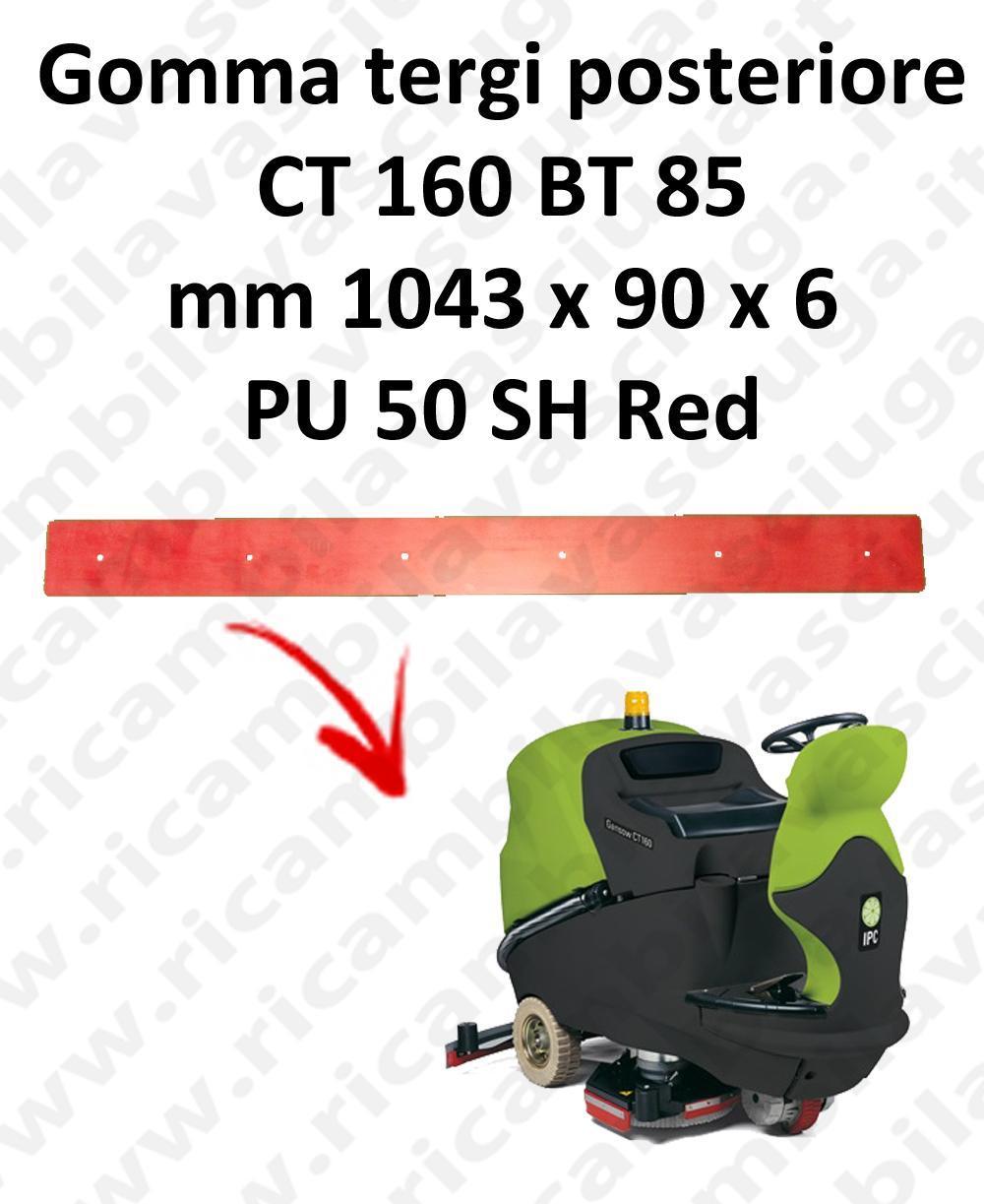 CT 160 BT 85 goma de secado trasero para escobilla de goma IPC
