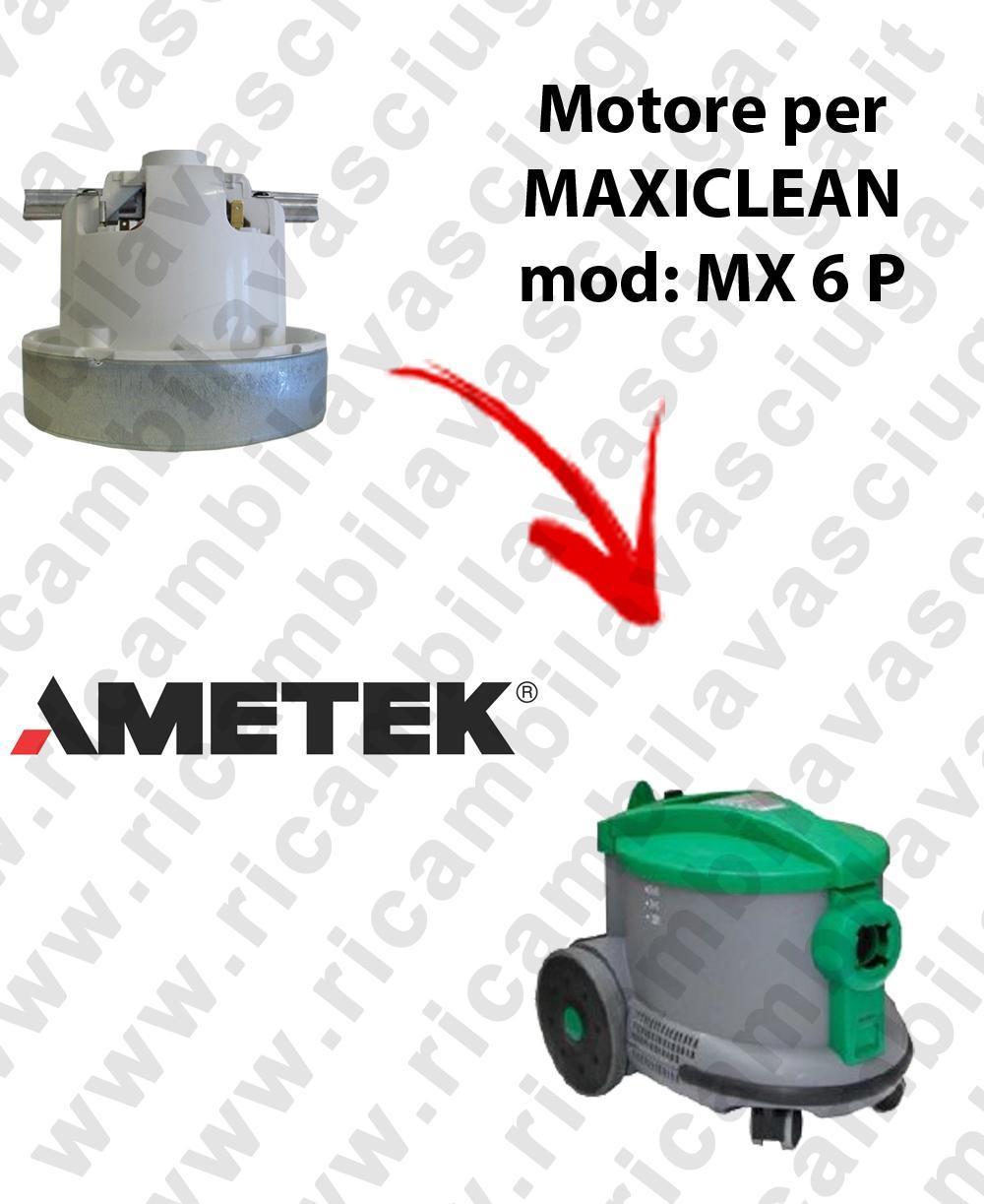 MX 6 P Motore de aspiración AMETEK para aspiradora MAXICLEAN