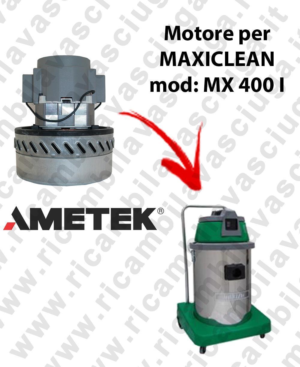MX 400 I Motore de aspiración AMETEK para aspiradora y aspiradora húmeda MAXICLEAN
