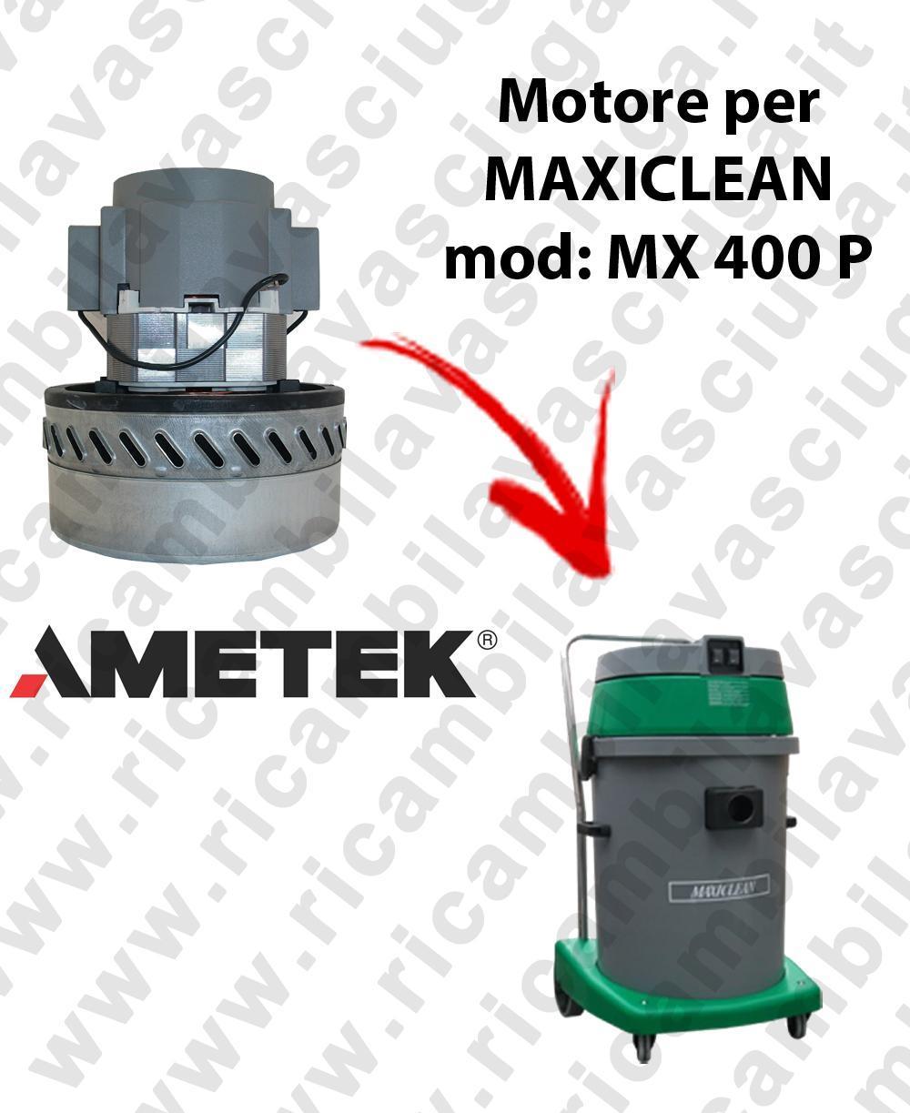 MX 400 P Motore de aspiración AMETEK para aspiradora y aspiradora húmeda MAXICLEAN