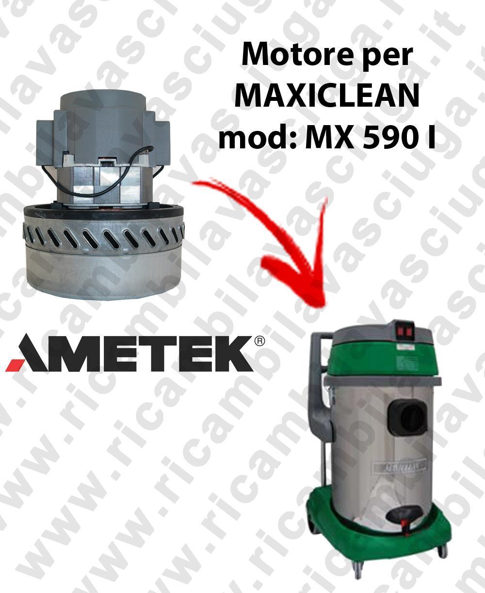 MX 590 I Motore de aspiración AMETEK para aspiradora y aspiradora húmeda MAXICLEAN