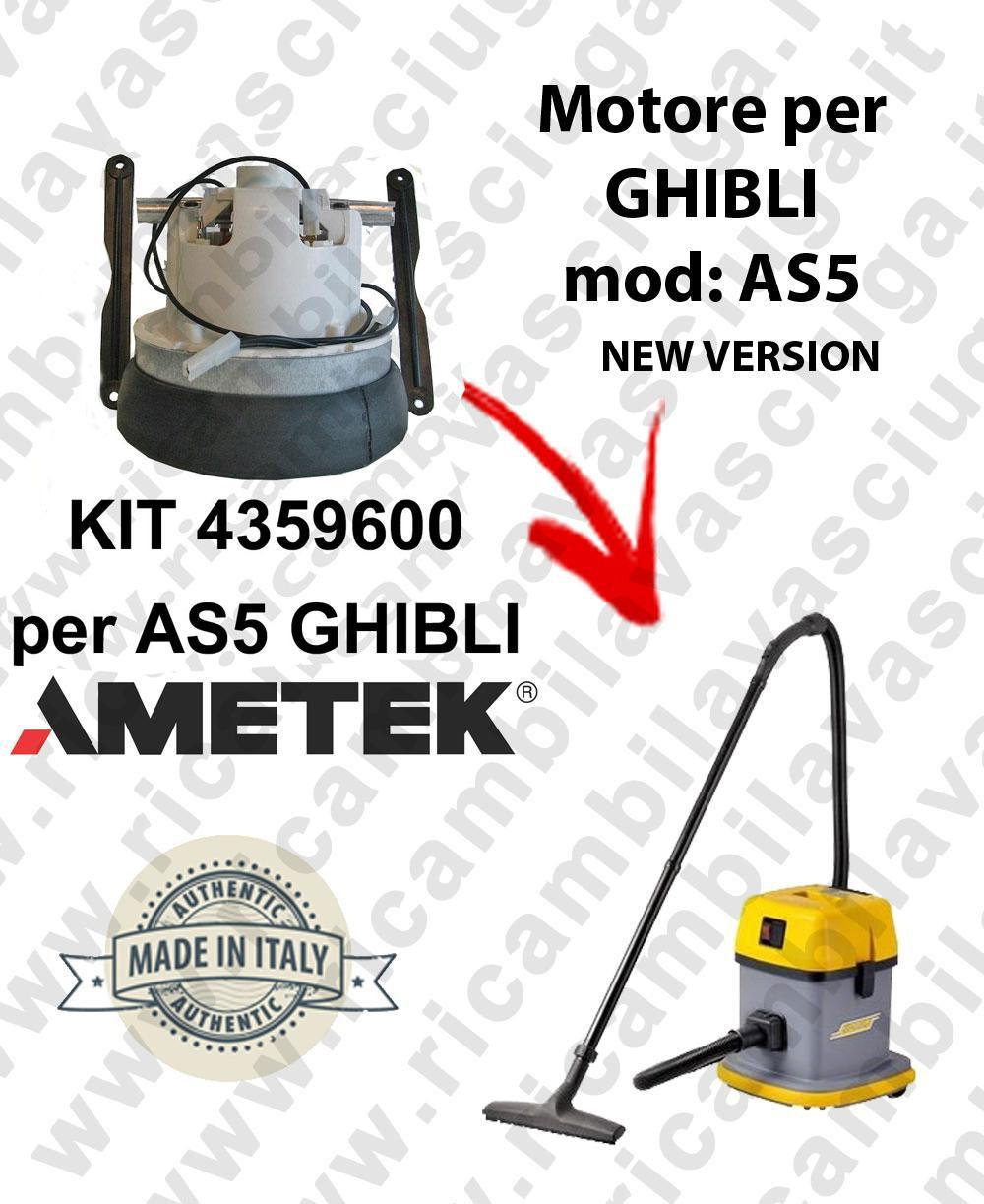 4359600 KIT Motore de aspiración AMETEK para aspiradora para GHIBLI AS5