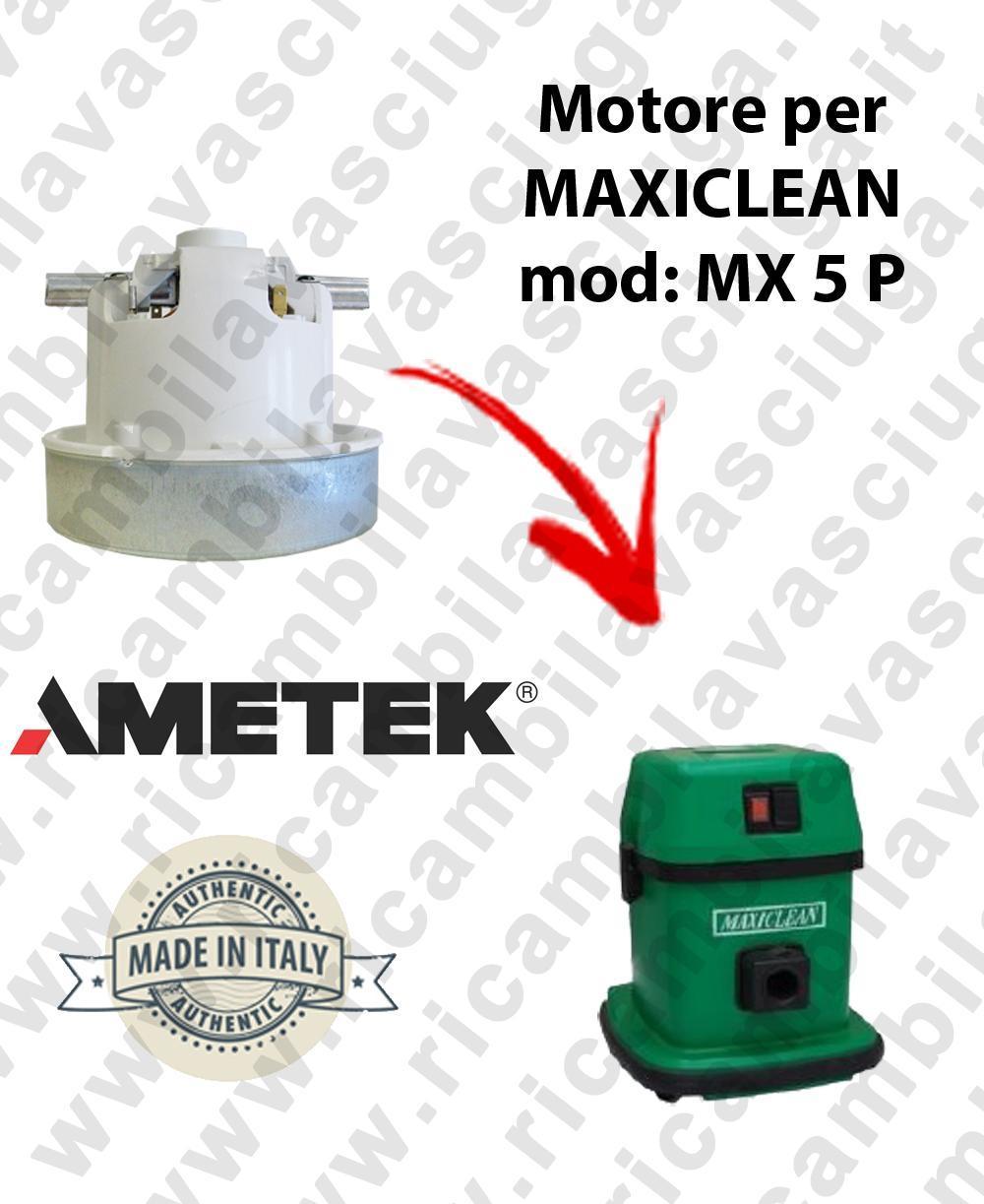 MX 5 P Motore de aspiración AMETEK para aspiradora MAXICLEAN