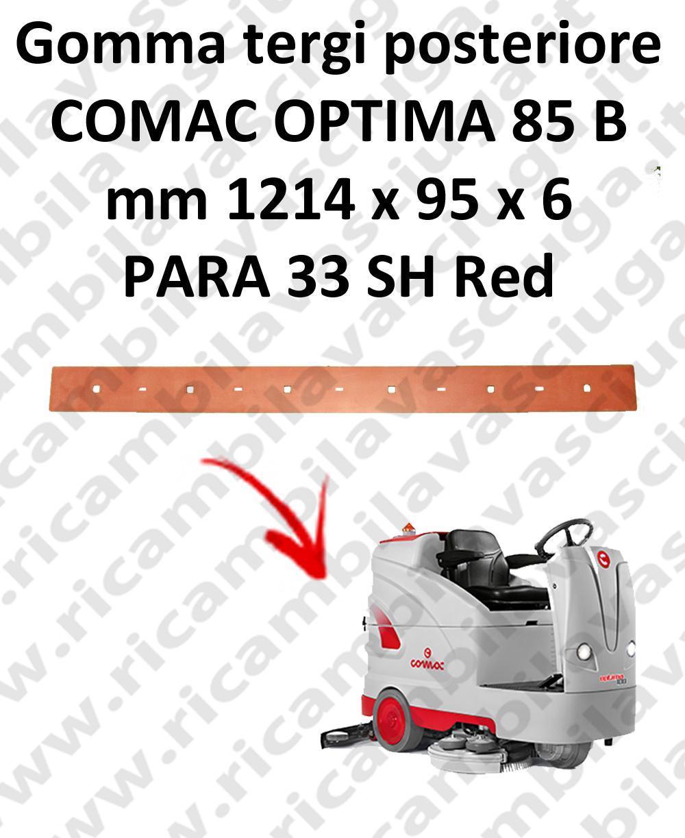 OPTIMA 85B goma de secado trasero para escobilla de goma COMAC