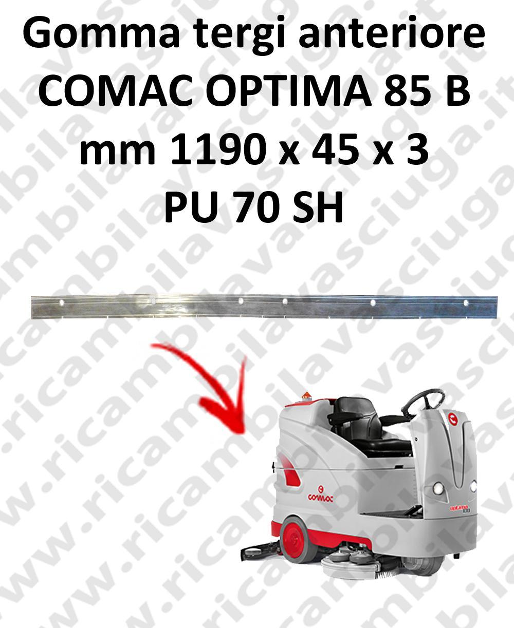 OPTIMA 85B goma de secado delantera para escobilla de goma COMAC