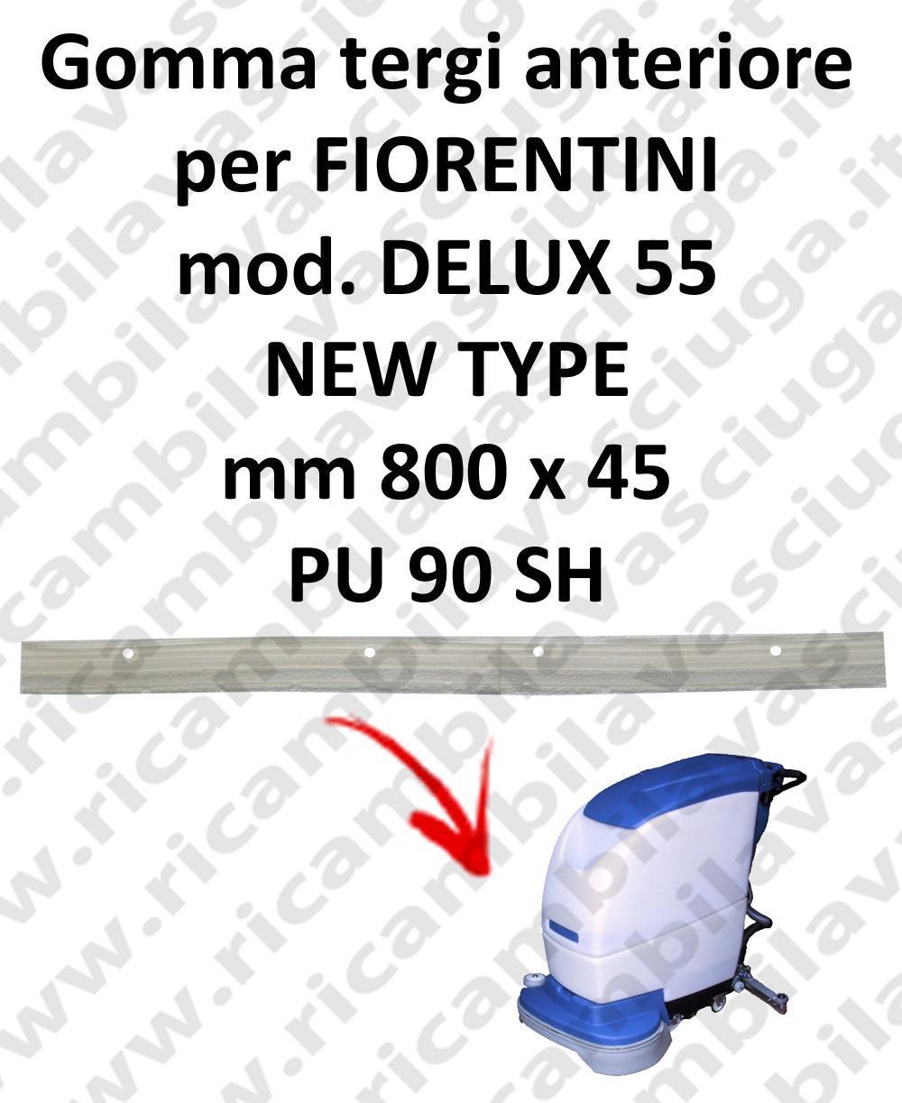 DELUX 55 new type goma de secado delantera para escobilla de goma FIORENTINI