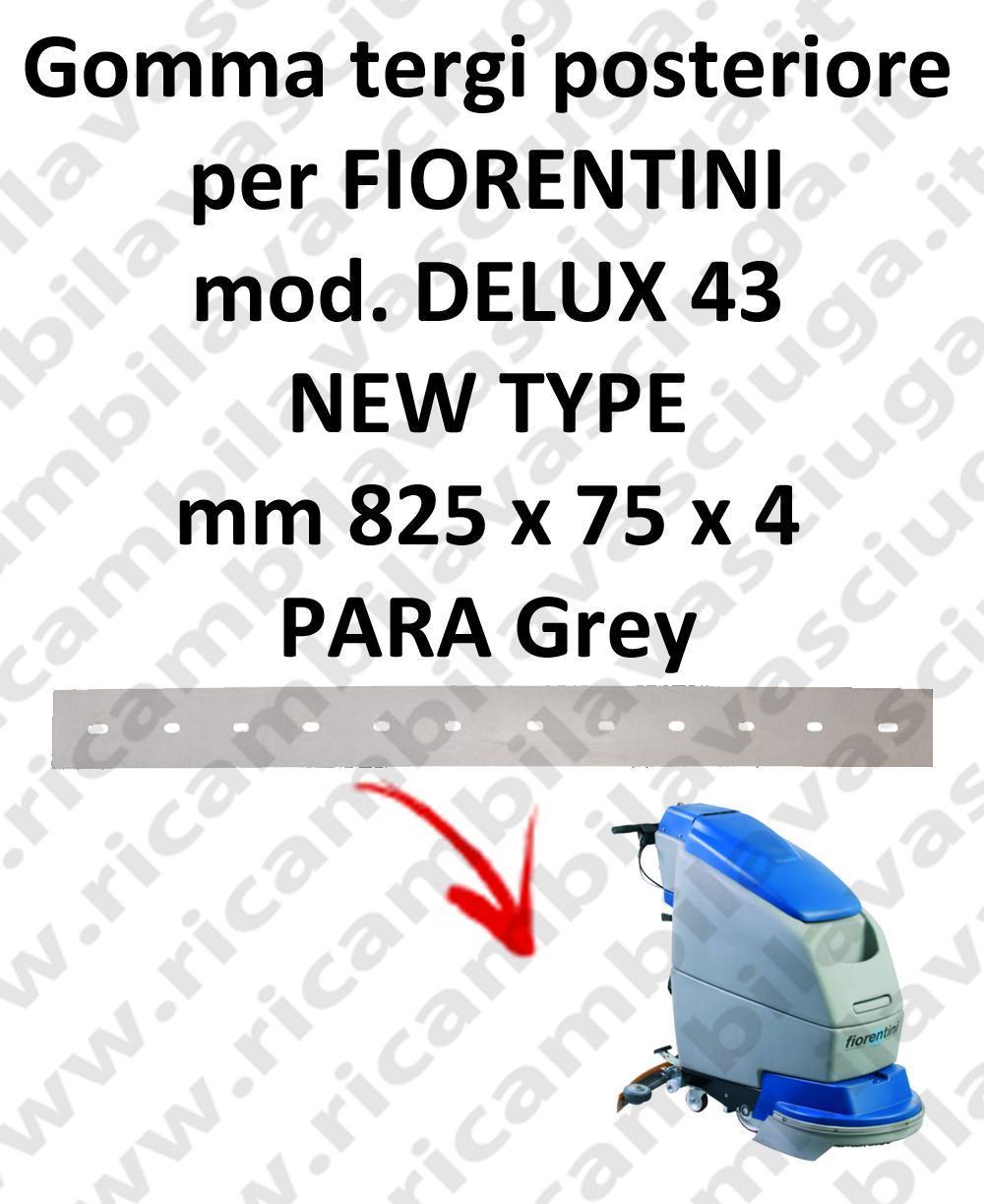 DELUX 43 new type goma de secado trasero para escobilla de goma FIORENTINI