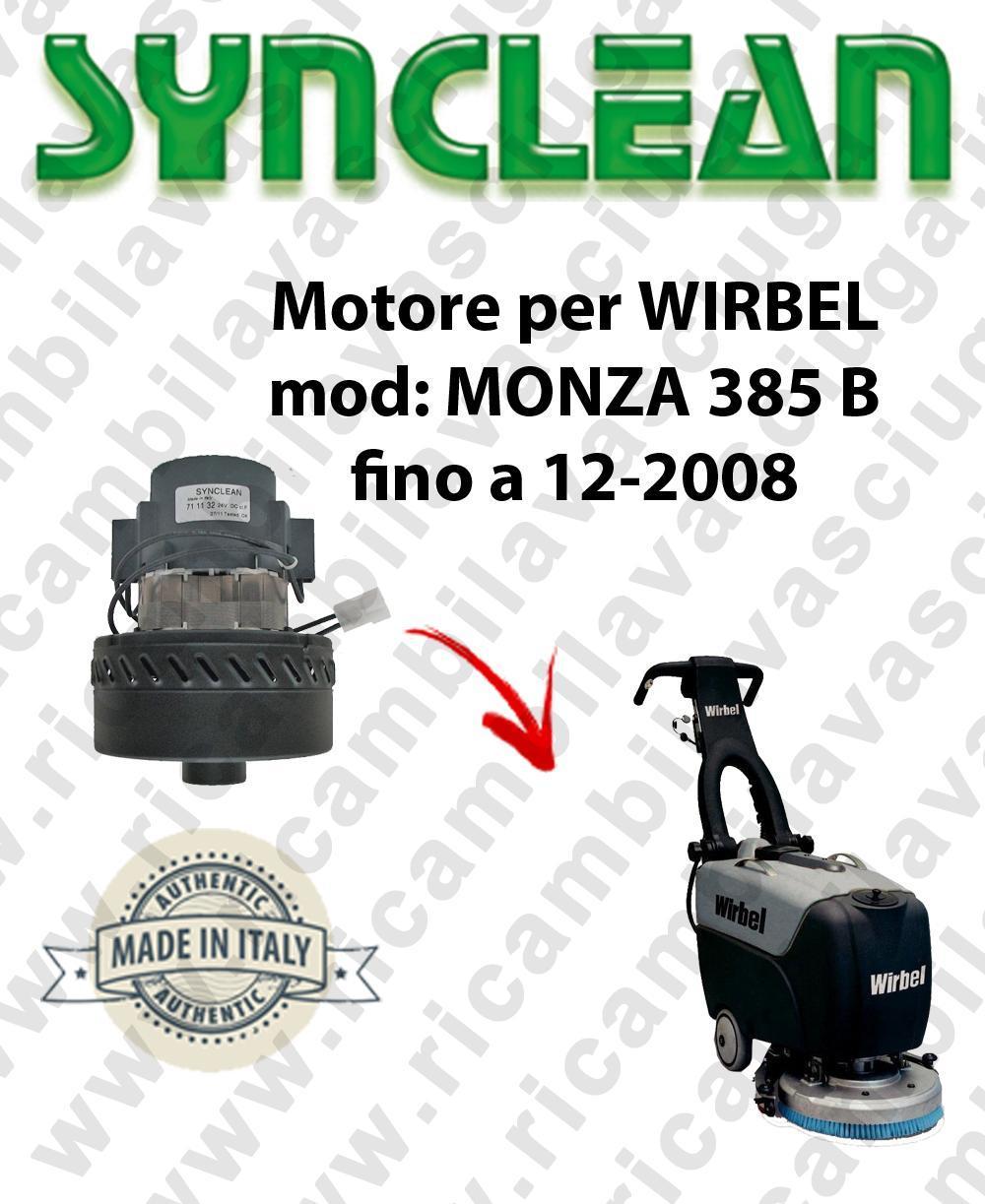 MONZA 385 B fino a 12-2008 MOTORE SYNCLEAN di aspirazione para fregadora WIRBEL