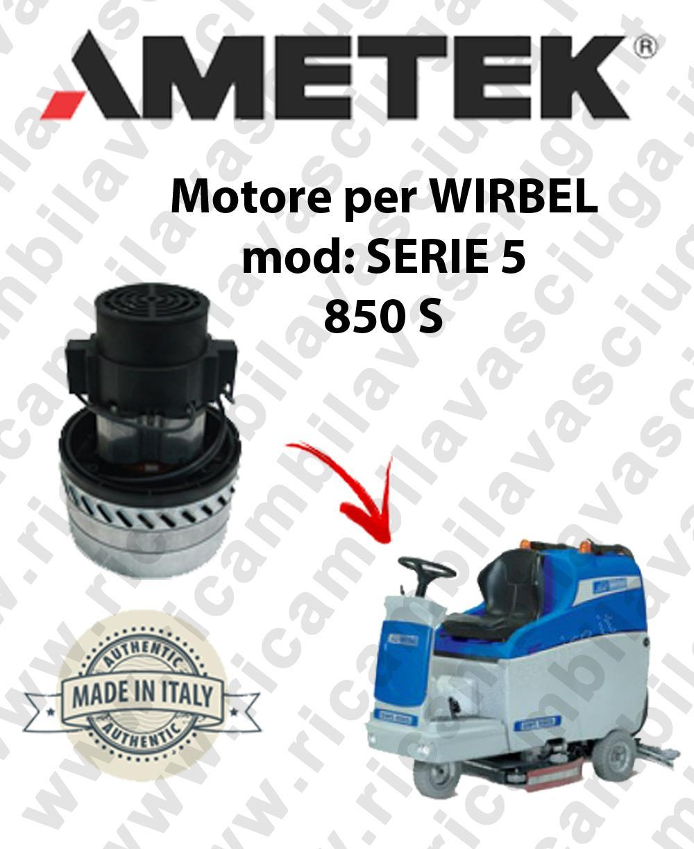 SERIE 5 850 S Motore de aspiración AMETEK para fregadora WIRBEL
