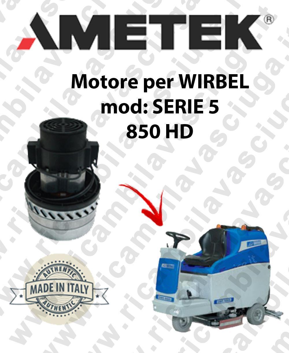 SERIE 5 850 HD Motore de aspiración AMETEK para fregadora WIRBEL