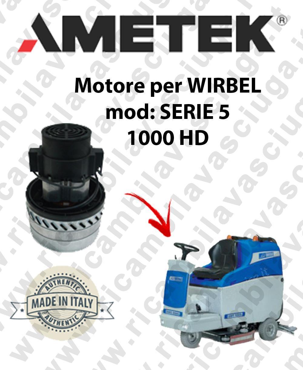 SERIE 5 1000 HD Motore de aspiración AMETEK para fregadora WIRBEL