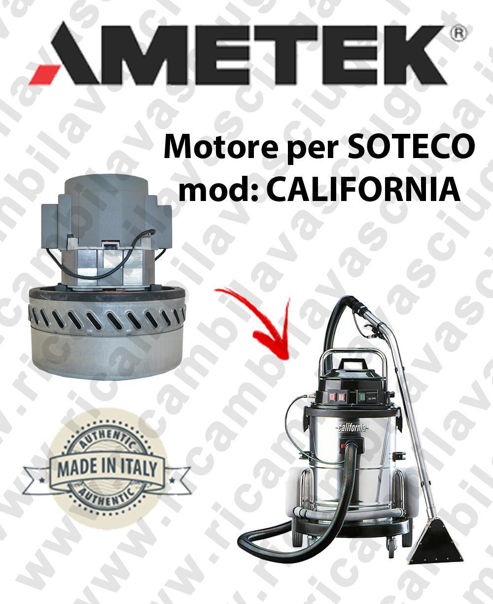 CALIFORNIA Motore de aspiración AMETEK  para aspiradora SOTECO
